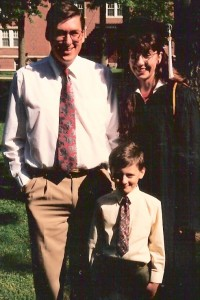MJ graduation 95